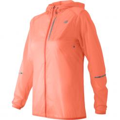 New Balance WJ61226BES. Różowe kurtki damskie do biegania New Balance, z materiału. Za 199,99 zł.