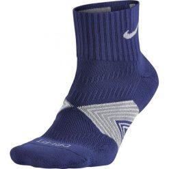 Nike Skarpety unisex Dri-Fit Cushioned fioletowo-szare r. 34-38. Fioletowe skarpetki męskie marki Nike. Za 36,52 zł.