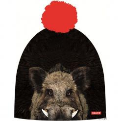 Czapka Magic Fun BOAR. Czarne czapki zimowe damskie marki KIPSTA, m, z elastanu, z długim rękawem, na fitness i siłownię. Za 79,00 zł.