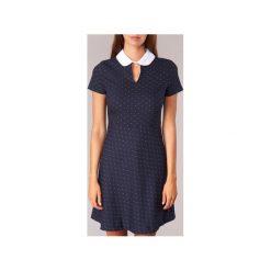 Sukienki krótkie Kookaï  CAMA. Niebieskie sukienki mini marki Kookai, z krótkim rękawem. Za 335,30 zł.