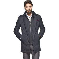 Płaszcze przejściowe męskie: płaszcz omero grafit