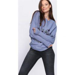 Niebieski Sweter Perfect Day. Niebieskie swetry klasyczne damskie Born2be, l, z dekoltem w łódkę. Za 59,99 zł.