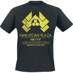 Stirb Langsam Nakatomi Plaza T-Shirt czarny. Czarne t-shirty męskie z nadrukiem Stirb Langsam, m, z okrągłym kołnierzem. Za 74,90 zł.