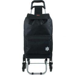"""Shopper bag damskie: Torba """"Atlas"""" w kolorze czarnym na zakupy – 42 x 92 x 35 cm"""
