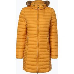Marie Lund - Płaszcz puchowy damski – Caroline, żółty. Żółte płaszcze damskie pastelowe Marie Lund, z puchu. Za 589,95 zł.