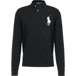 Polo Ralph Lauren BASIC CUSTOM SLIM FIT Koszulka polo black. Czarne koszulki polo marki Polo Ralph Lauren, m, z bawełny. Za 629,00 zł.