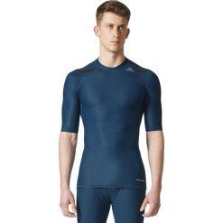 Adidas Koszulka Tech Fit TF Power SS niebieska r. M (CD2463). Niebieskie koszulki sportowe męskie Adidas, m. Za 213,43 zł.