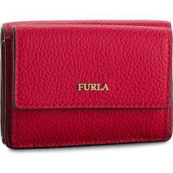 Mały Portfel Damski FURLA - Babylon 962288 P PZ12 OAS Ruby. Czerwone portfele damskie marki Furla, ze skóry. Za 435,00 zł.