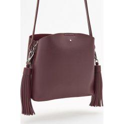 Torebka z frędzlami - Bordowy. Czerwone torebki klasyczne damskie marki Reserved, duże. Za 119,99 zł.