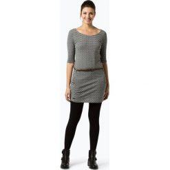 Ragwear - Sukienka damska – Tanya Zig Zag, czarny. Czarne sukienki balowe marki Ragwear, l, z dżerseju. Za 249,95 zł.