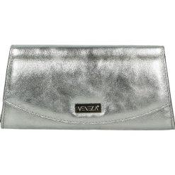 Torebka - 100-154-O L A. Szare torebki klasyczne damskie Venezia, ze skóry. Za 149,00 zł.