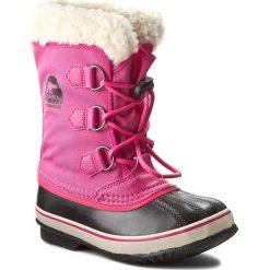 Kozaki dziewczęce: Śniegowce SOREL – Yoot Pac Nylon NY1879 Haute Pink 627