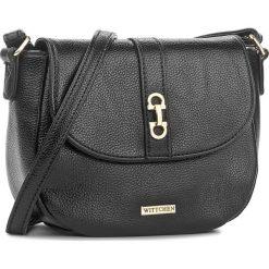 Torebka WITTCHEN - 85-4Y-557-1 Czarny. Czarne torebki klasyczne damskie Wittchen. W wyprzedaży za 139,00 zł.