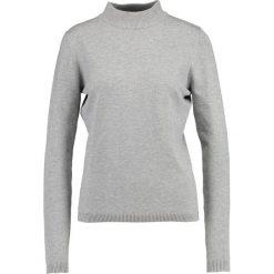 Swetry klasyczne damskie: Soft Rebels TURTEL NECK Sweter light grey