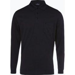 Ragman - Męska koszulka polo, czarny. Czarne koszulki polo Ragman, m, z bawełny. Za 229,95 zł.