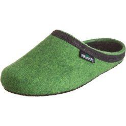 """Kapcie damskie: Kapcie """"127"""" w kolorze zielonym"""