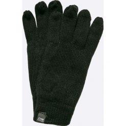 Jack & Jones - Rękawiczki. Czarne rękawiczki męskie marki Jack & Jones, z dzianiny. W wyprzedaży za 39,90 zł.