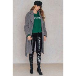 Płaszcze damskie pastelowe: NA-KD Trend Płaszcz Teddy - Grey