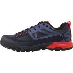 Salomon X ALP GTX  Półbuty trekkingowe graphite/crown blue/poppy red. Czarne półbuty damskie marki ecco. Za 659,00 zł.