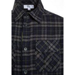 BOSS Kidswear LANGARM Koszula anthra meliert. Niebieskie bluzki dziewczęce bawełniane marki BOSS Kidswear. W wyprzedaży za 197,40 zł.