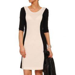 Sukienki hiszpanki: Sukienka w kolorze czarno-ecru