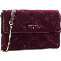 Torebka PATRIZIA PEPE - 2V7379/A4M3-R621 Ruby Strass. Czarne torebki klasyczne damskie marki Patrizia Pepe, ze skóry. W wyprzedaży za 689,00 zł.
