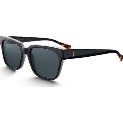 """Okulary przeciwsłoneczne """"Midnight Lector"""" w kolorze czarnym. Brązowe okulary przeciwsłoneczne damskie lenonki marki Triwa, z tworzywa sztucznego. W wyprzedaży za 259,95 zł."""