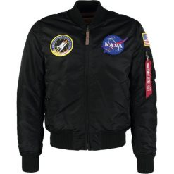 Alpha Industries NASA Kurtka Bomber black. Czerwone kurtki męskie bomber marki Reserved, l. Za 759,00 zł.