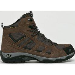Jack Wolfskin - Buty Vojo Hike Mid Texapore Men. Szare buty trekkingowe męskie Jack Wolfskin, z materiału, outdoorowe. W wyprzedaży za 379,90 zł.