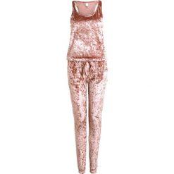 Piżamy damskie: Chelsea Peers CRUSH JUMPSUIT Piżama bronze