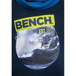 Bench GRAPHIC FUNNEL  Bluza dark navy blue. Szare bluzy chłopięce marki Bench, z bawełny, z kapturem. W wyprzedaży za 152,10 zł.