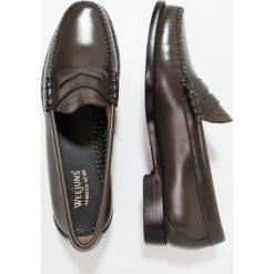 Buty wizytowe męskie: G. H. Bass & Co. WEEJUN LARSON MOC PENNY Eleganckie buty dark grey