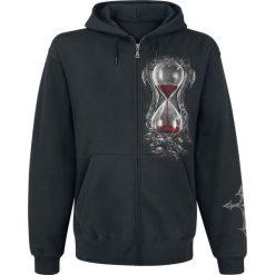 Spiral Sands of Death Bluza z kapturem rozpinana czarny. Brązowe bluzy męskie rozpinane marki SOLOGNAC, m, z elastanu. Za 184,90 zł.