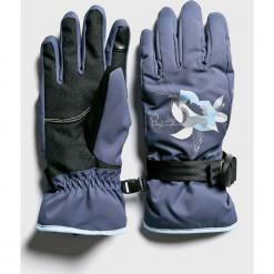 Roxy - Rękawiczki. Czerwone rękawiczki damskie Roxy, z materiału. W wyprzedaży za 149,90 zł.
