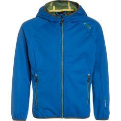 CMP Kurtka Softshell zaffiro. Niebieskie kurtki damskie softshell marki CMP, z materiału. W wyprzedaży za 181,30 zł.