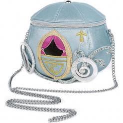 Kopciuszek Danielle Nicole - Kutsche Torebka - Handbag niebieski. Niebieskie torebki klasyczne damskie Kopciuszek, z aplikacjami, z aplikacjami. Za 284,90 zł.