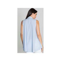 Bluzki damskie: Bluzka M547 Niebieski
