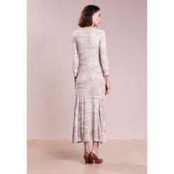 Długie sukienki: Polo Ralph Lauren DRAPEY WAFFLE Długa sukienka beige