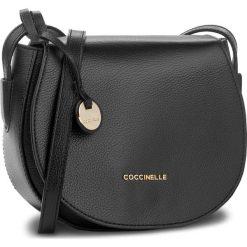 Torebka COCCINELLE - BF8 Clementine Soft E1 BF8 15 02 01 Noir 001. Czarne listonoszki damskie marki Coccinelle. W wyprzedaży za 699,00 zł.