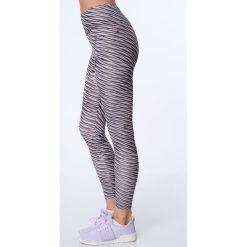 Legginsy sportowe we wzory bladoróżowy MR15285. Czarne legginsy sportowe damskie marki Fasardi, m, z dresówki. Za 59,00 zł.