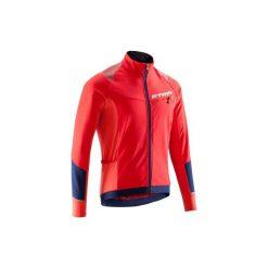 Kurtka na rower 500. Czerwone kurtki męskie marki B'TWIN, m. W wyprzedaży za 119,99 zł.