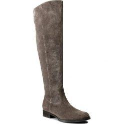 Muszkieterki LASOCKI - ESTRADA-03 Szary. Szare buty zimowe damskie Lasocki, ze skóry, na obcasie. Za 349,99 zł.