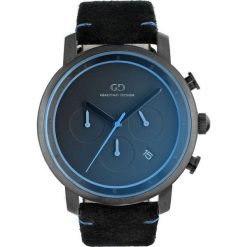 Zegarek Giacomo Design Męski GD11001 Chronograf czarny. Czarne zegarki męskie Giacomo Design. Za 674,00 zł.