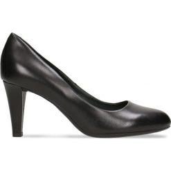 Czółenka FRIDA. Czarne buty ślubne damskie Gino Rossi, ze skóry, na szpilce. Za 224,95 zł.
