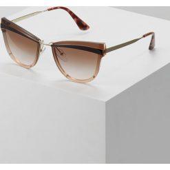 Prada Okulary przeciwsłoneczne brown. Brązowe okulary przeciwsłoneczne damskie aviatory Prada. Za 979,00 zł.