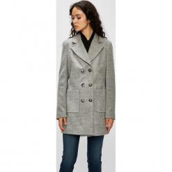 Silvian Heach - Płaszcz. Szare płaszcze damskie pastelowe Silvian Heach, l, z materiału, klasyczne. W wyprzedaży za 599,90 zł.