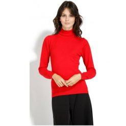 Swetry damskie: William De Faye Sweter Damski M Czerwony