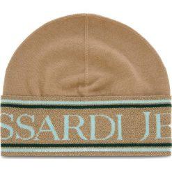Czapka TRUSSARDI JEANS - Hat Logo Lurex 59Z00110 W004. Czarne czapki zimowe damskie marki INOVIK, z elastanu. Za 169,00 zł.