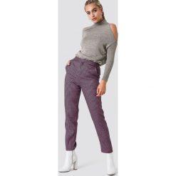 Golfy damskie: Trendyol Sweter z odkrytymi ramionami – Grey,Beige