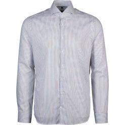 Koszule męskie na spinki: Koszula – Tailored – w kolorze biało-czarnym